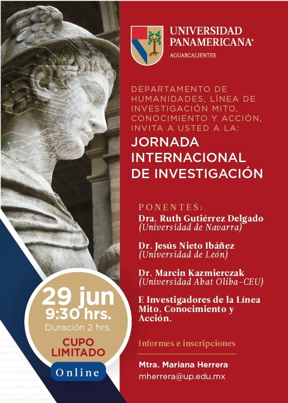 """Jornada Internacional de investigación: """"Memorias del futuro"""""""