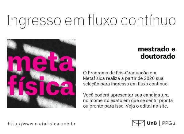 Venha estudar Filosofia Antiga na Universidade de Brasília!