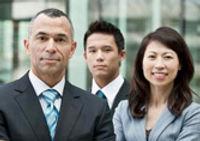 日本語通訳チームのイメージ