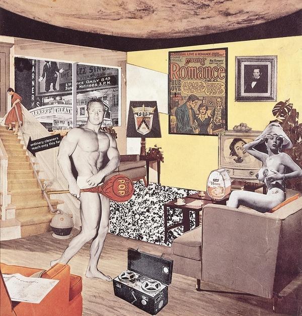 《究竟是什麼使今日家庭如此不同、如此吸引人呢?》理查·漢密爾頓(1956)