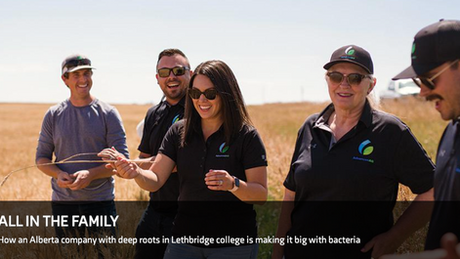 All in the Family | Lethbridge College
