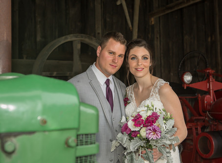 Alexandra & Michael - Fanshawe Pioneer Village Wedding