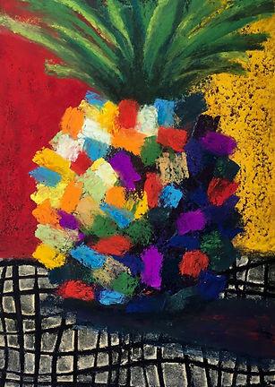 Ananas P3, pastel, 7X5