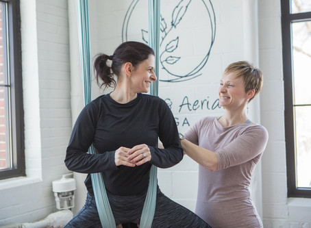 3 Tips for Building a Stronger Aerial Yoga Practice