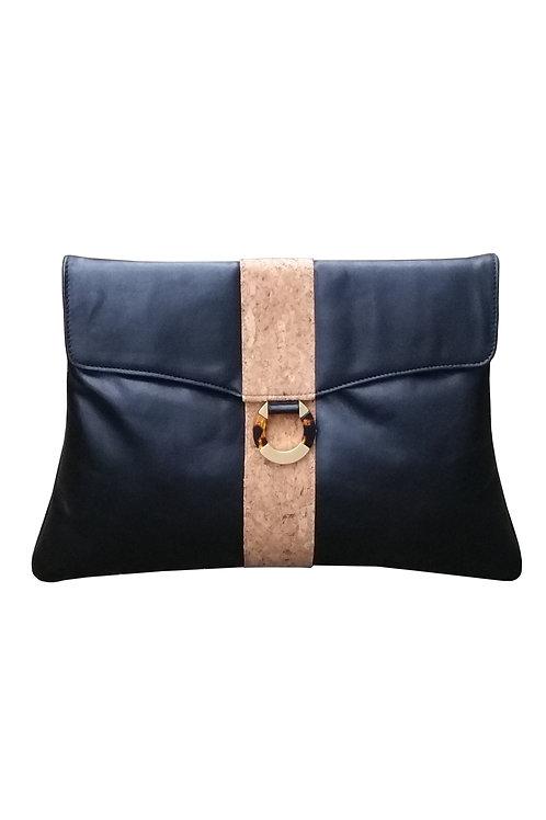 eIZA Cork leather clutch