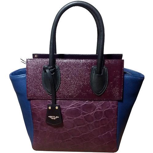 eIZA leather tote bag
