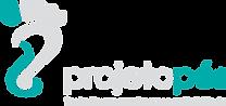 Logotipo do Projeto PÉS. Arte: Clara Braga e Vinícius Paixão