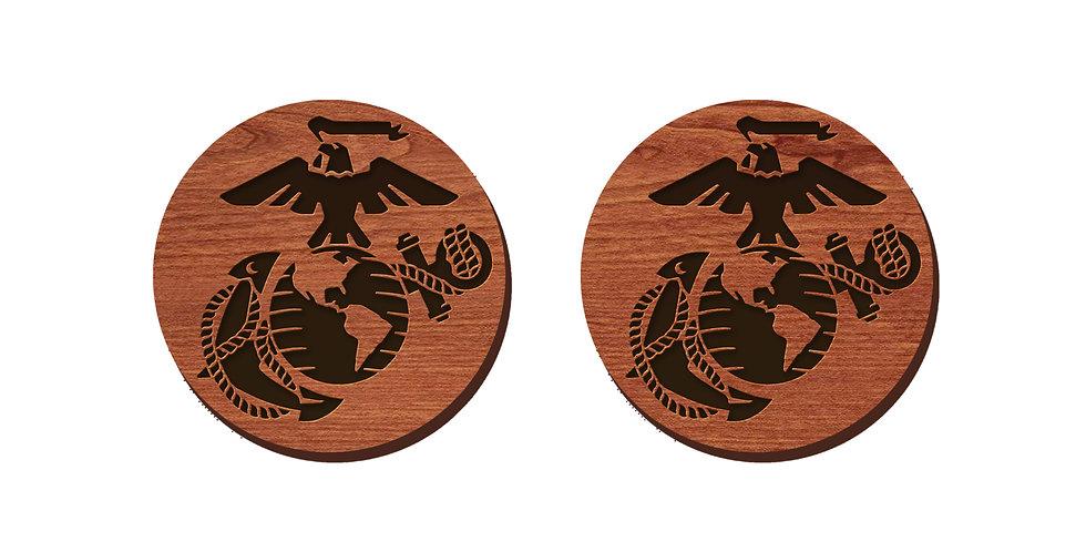 Marines Stud Earrings