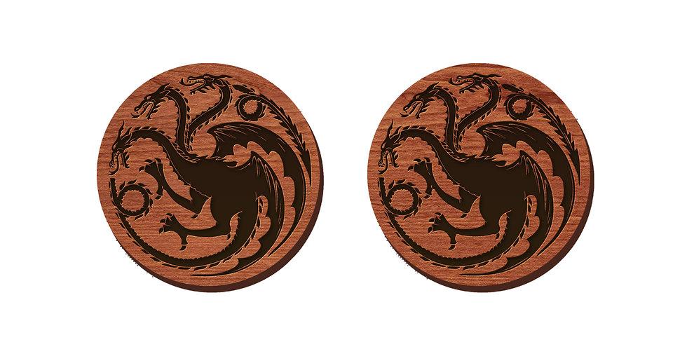 Targaryen Stud Earrings