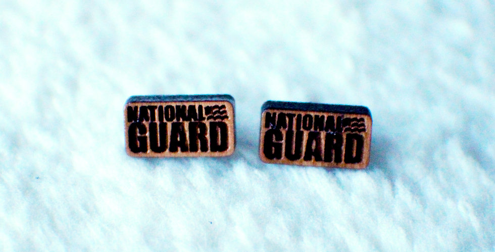 National Guard Stud Earrings
