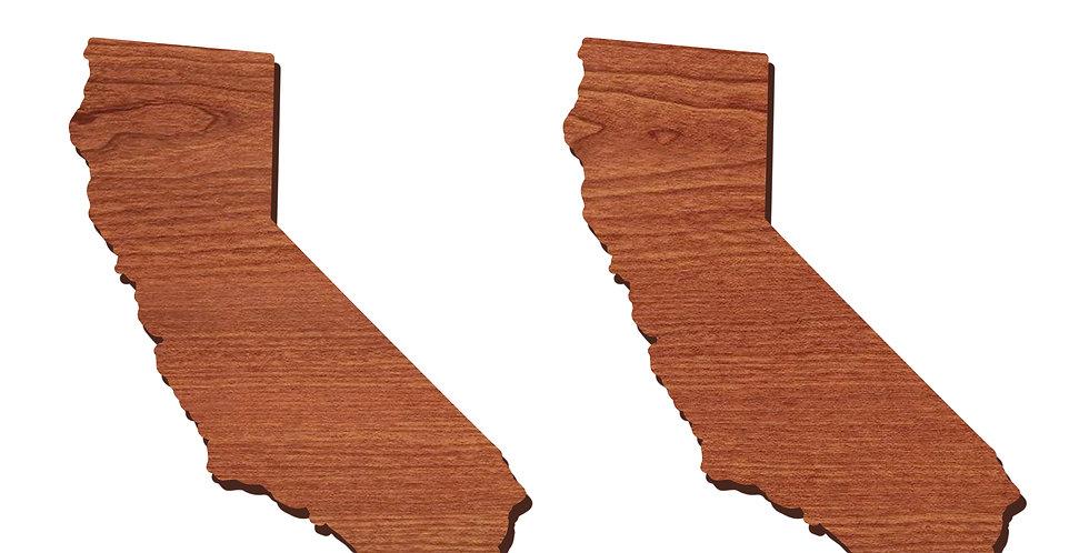 California Stud Earrings