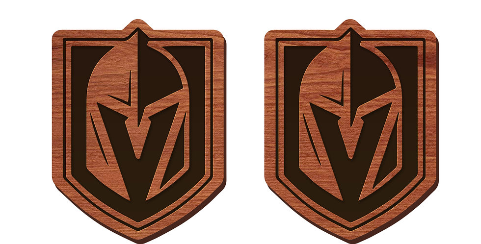 Las Vegas Golden Knights Stud Earrings