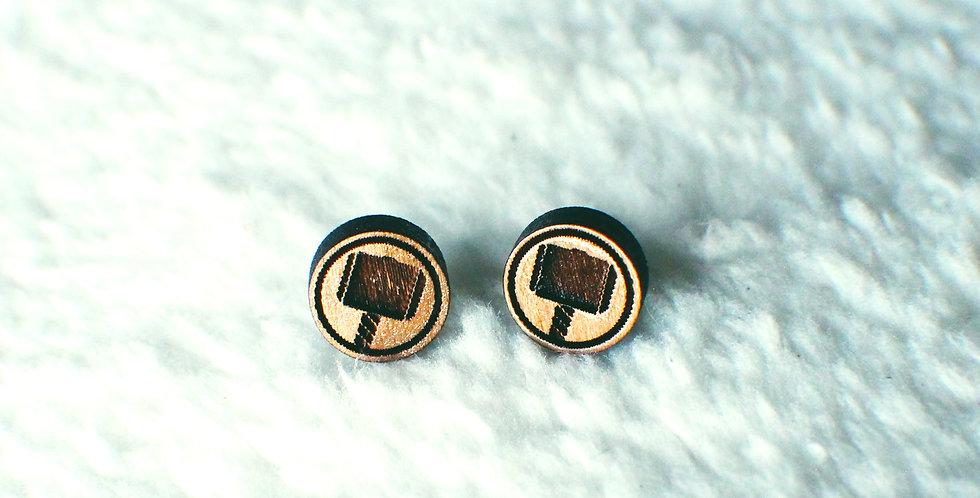 Thor Stud Earrings