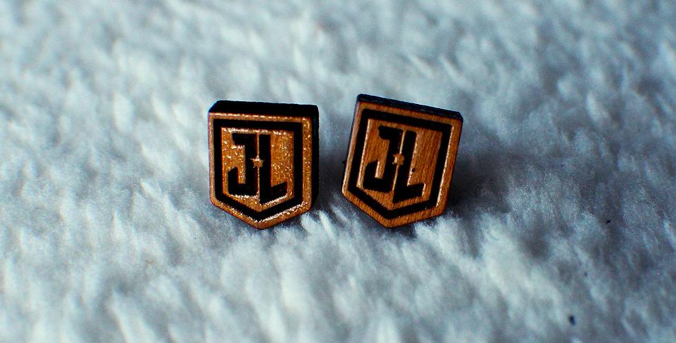 Justice League Stud Earrings