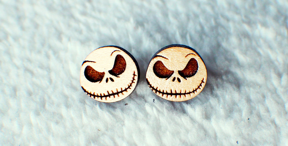 Skellington Stud Earrings