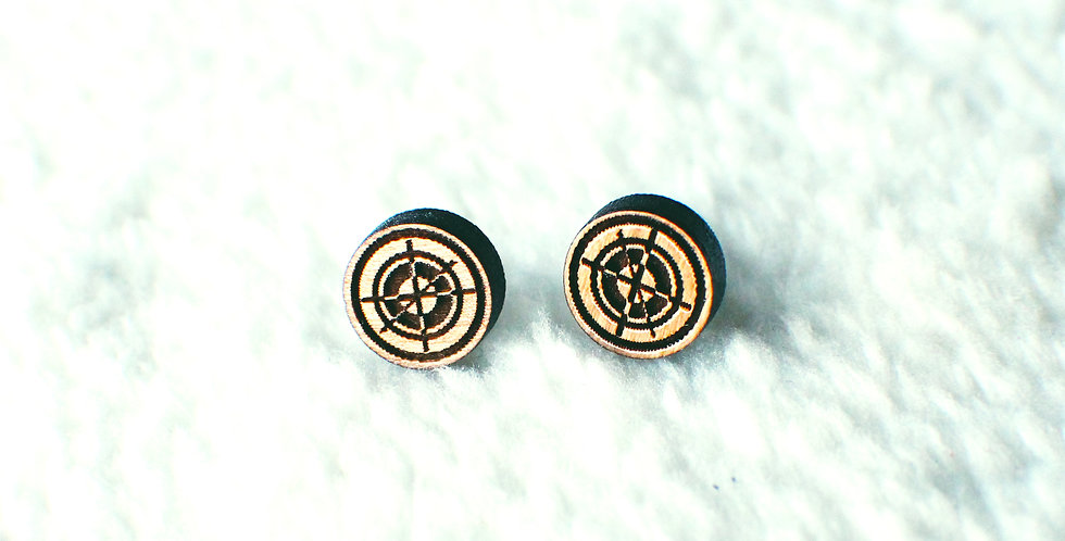 Hawkeye Stud Earrings