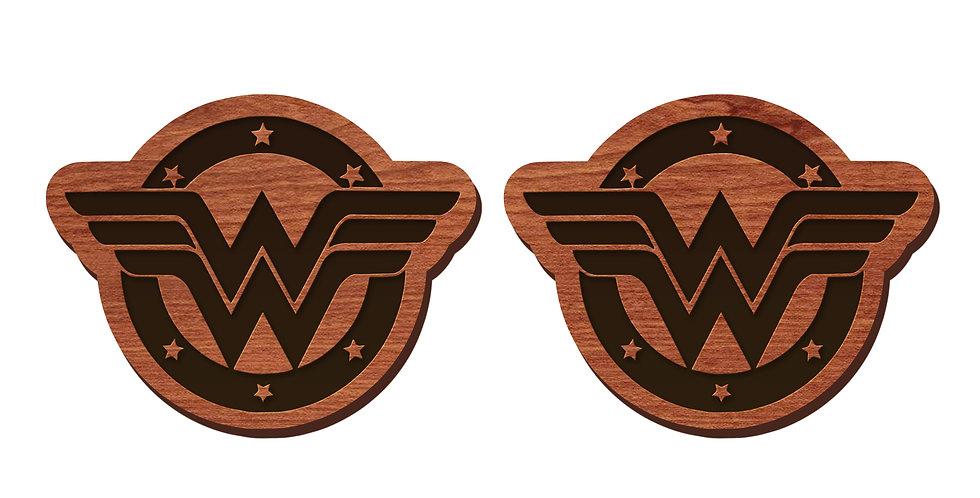 Wonder Woman Stud Earrings