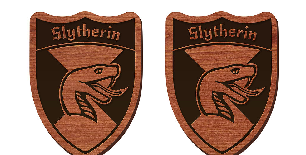 Slytherin Stud Earrings