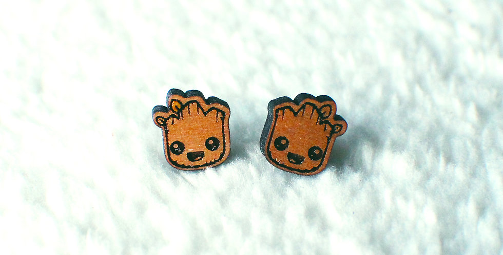 Groot Stud Earrings