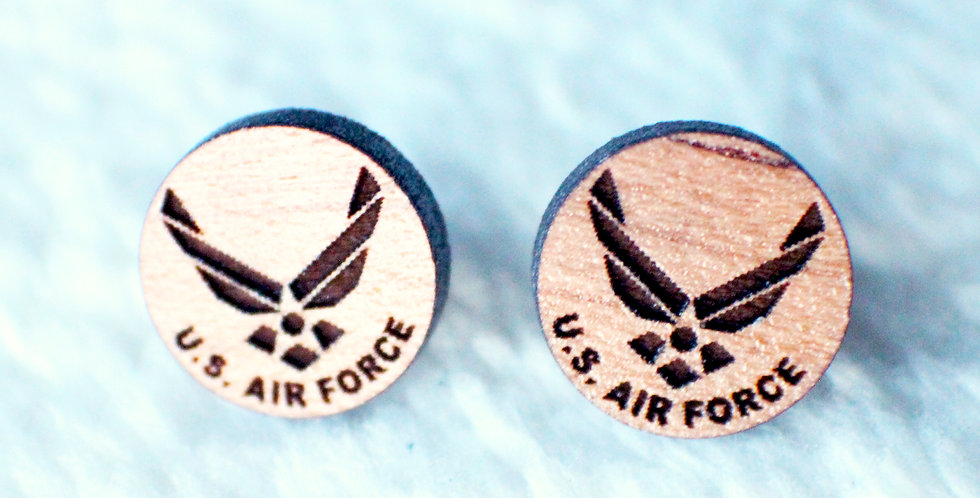 Air Force Stud Earrings
