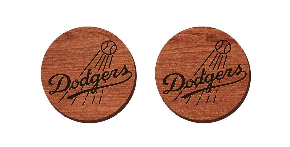 Dodgers Stud Earrings