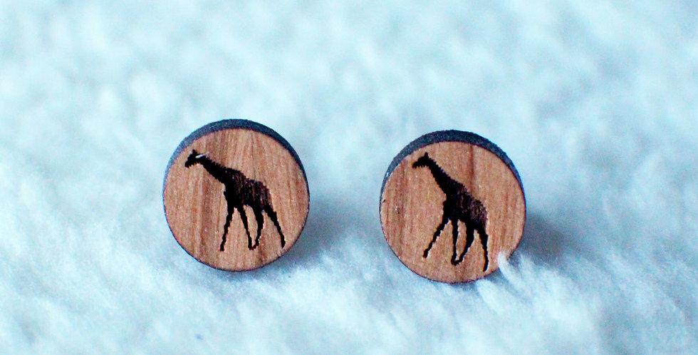 Giraffe Stud Earrings