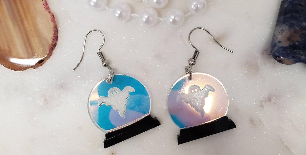 Crystal Ball Earrings | Spirit Earrings | Fortune-Telling Hanging Earng Earrings