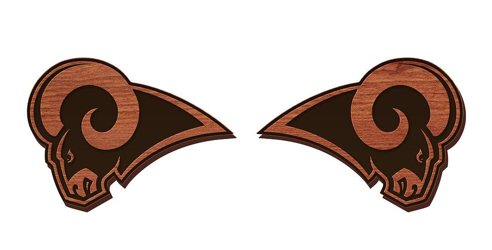Los Angeles Rams Stud Earrings