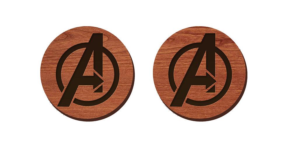 Avengers Stud Earrings