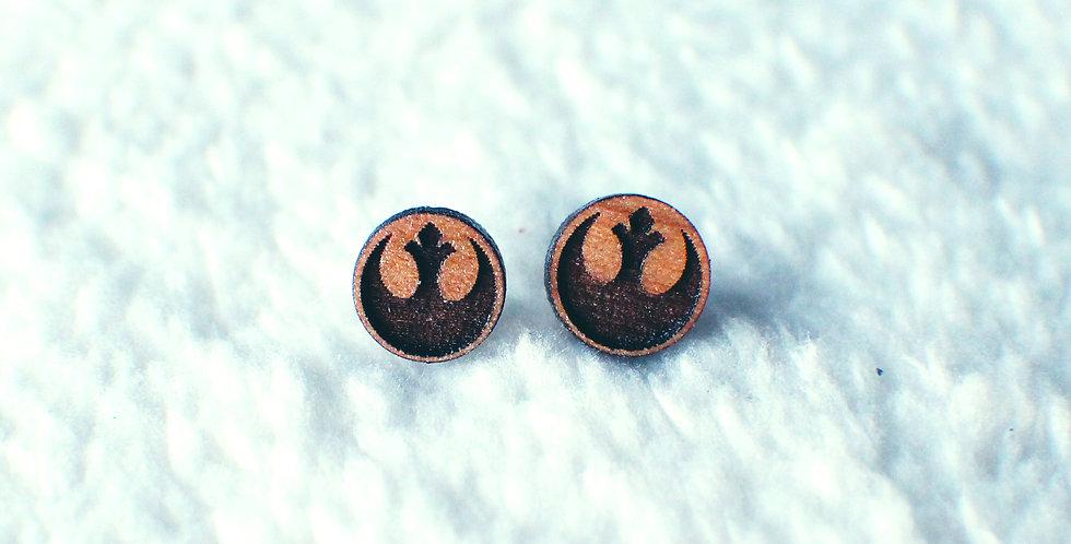 Rebel Stud Earrings