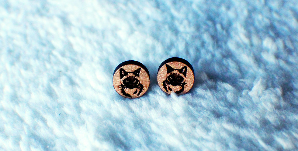 Himalayan Stud Earrings