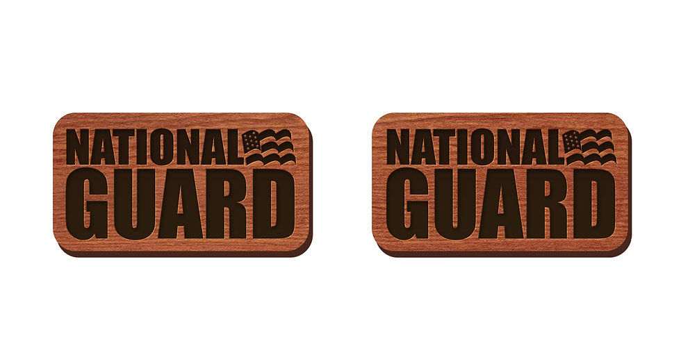 National Guard Stud Earrings