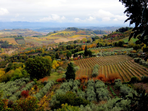 La Toscane aux couleurs d'automne