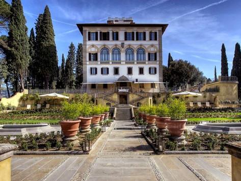 Sur la colline de Fiesole