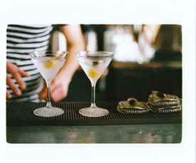 Serving up cold martinins and more!