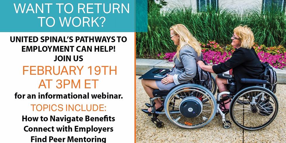 Pathways to Employment Webinar
