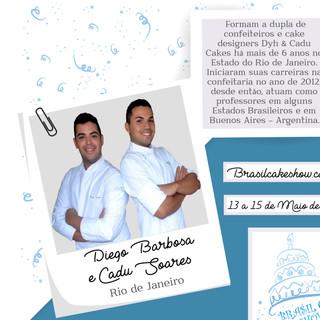 Cadu Soares e Diego Barbosa