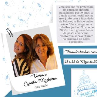 Vera e Camila Madeira
