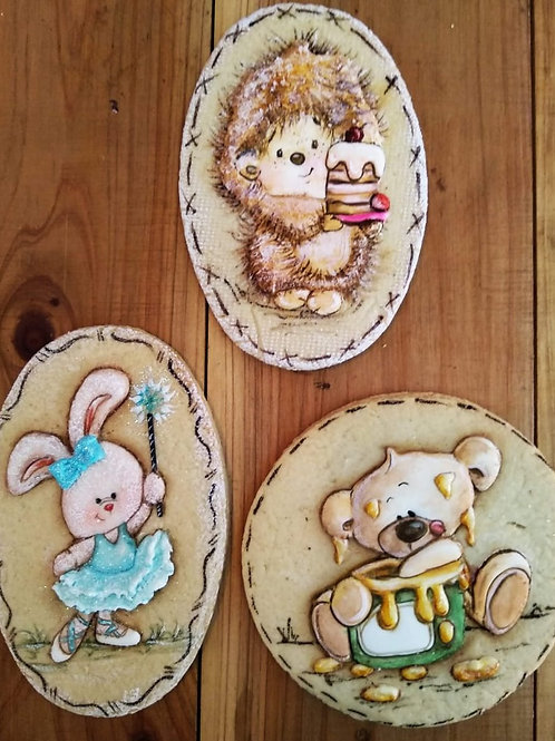 Biscoitos Decorados - Básico e Avançado com Vera e Camila Madeira