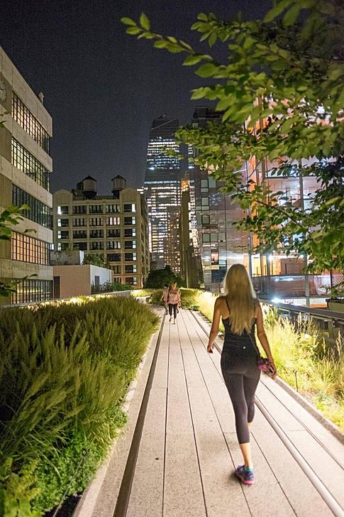Promenade sur la High Line - New-York