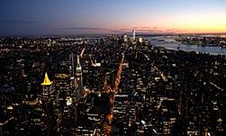 Nightview - Empie State Building New-York