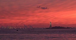 Sunset on Brooklyn - new-York