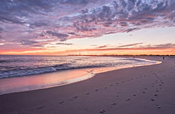 Cape May at sunset - New Jersey (USA)