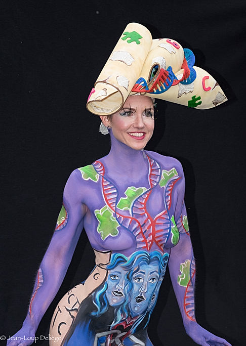 European Bodypainting championship 2016 - Lisse - The Netherlands