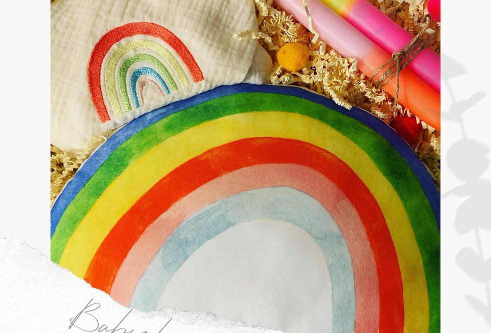 Rainbow Geschenkbox zur Geburt oder zur Taufe