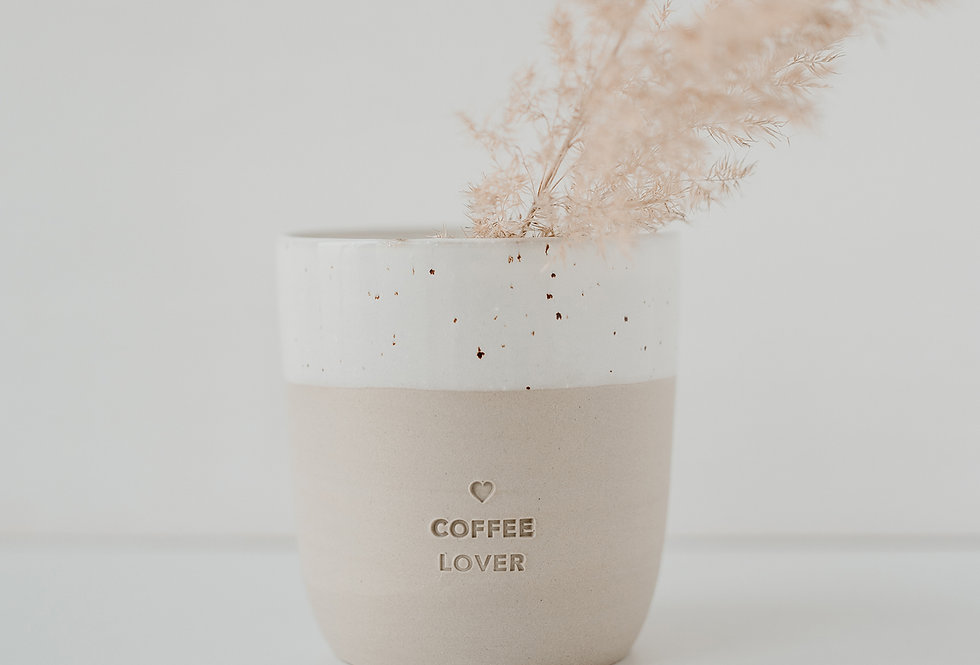 coffee lover Becher