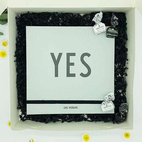 YES - das Fotoalbum zur Hochzeit