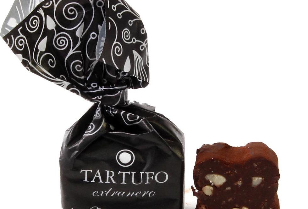 2 x Tartufo Praline dunkle Schokolade