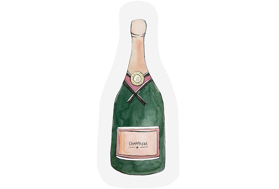 Let's drink Champagne Karte