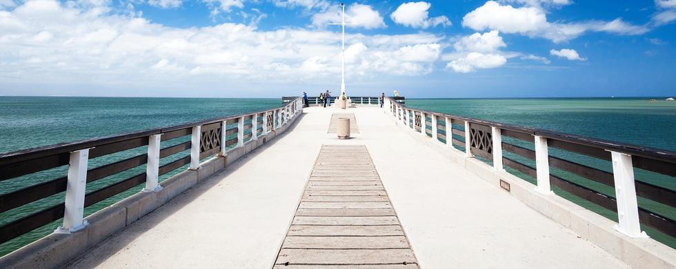 Shark Rock Pier, Summerstrand - 10 min drive